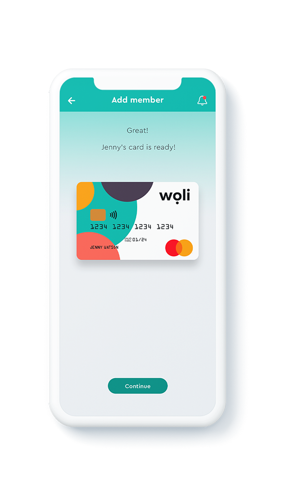 Real-time Woli card management